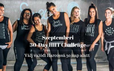 Új szeptemberi challenge