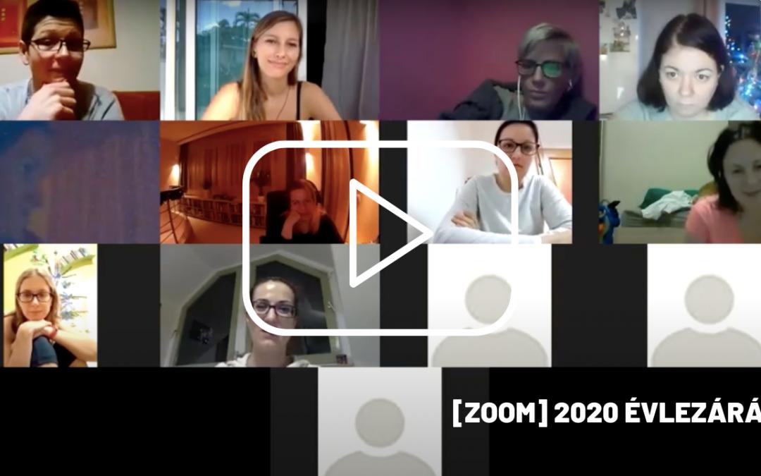 2020 ÉvLezáró és 2021 ÉvIndító Zoom + Pdf